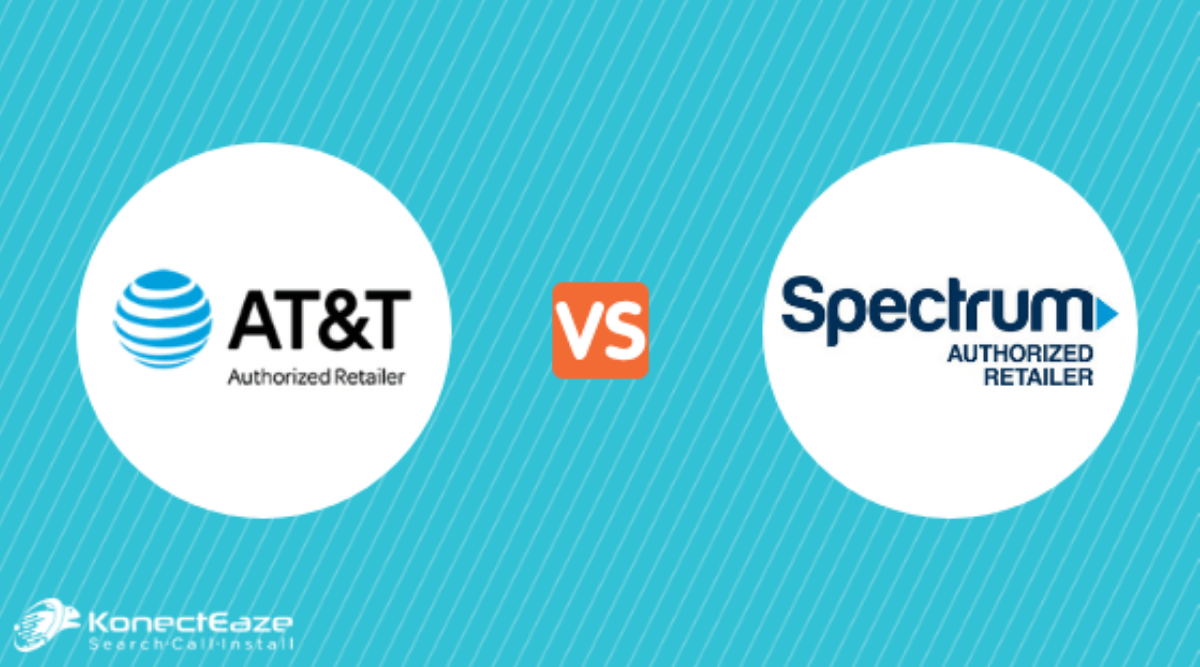 AT&T vs. Spectrum Internet