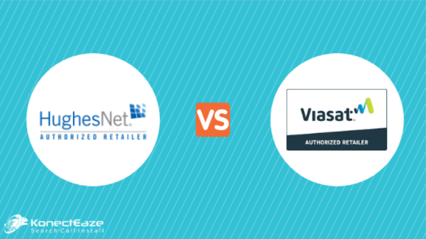 2020 HughesNet Reviews vs. Viasat Internet Reviews (formerly Exede)
